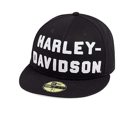 HARLEY-DAVIDSON 59FIFTY - Gorra de Fieltro para Hombre, Color ...