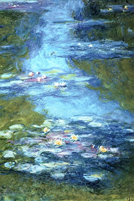 Claude Monet Water Lilies Pond French Impressionist Painter Art Poster 12x18 Inch