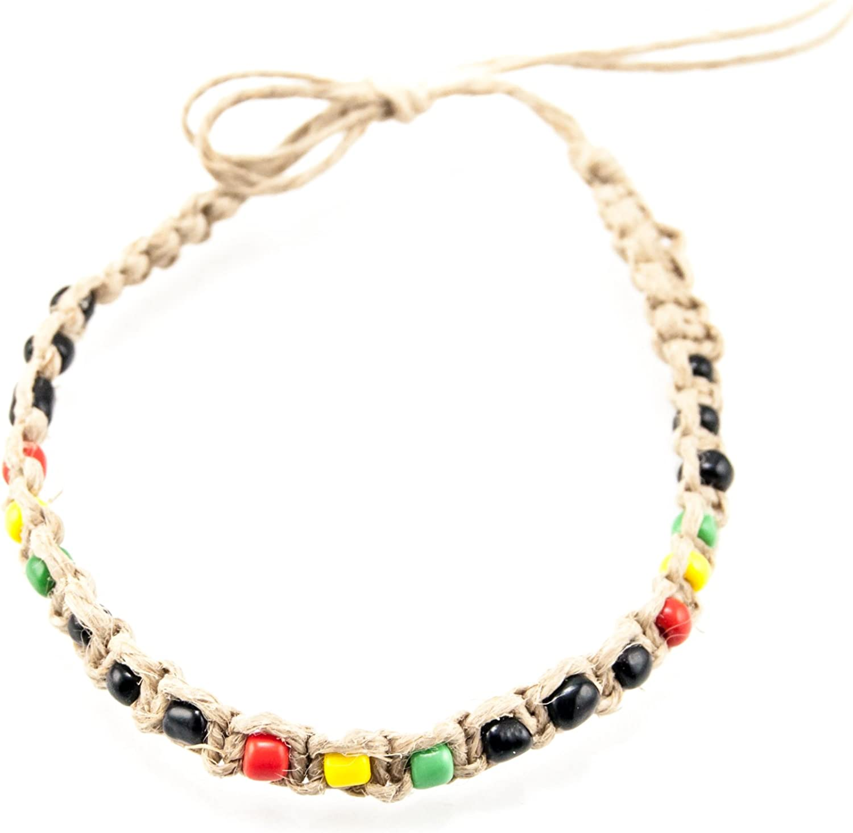 Macrame Accessories Macrame Anklet Bead Anklet Macrame Gift Boho Accents Hemp Anklet Boho Macrame Jewelry Bead Anklet Bracelet