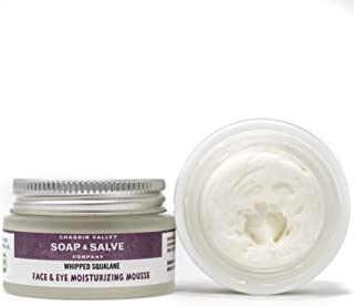 product image for Natural Face & Eye Moisturizer, Whipped Squalane, Chagrin Valley Soap & Salve