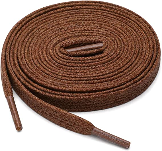 uxcell Shoelaces Flat Laces Wax