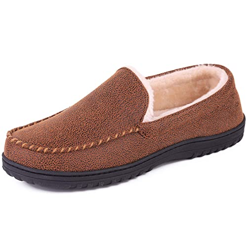 SoftPeds - Botas Mocasines de Piel sintética Hombre, Color Marrón, Talla 47: Amazon.es: Zapatos y complementos