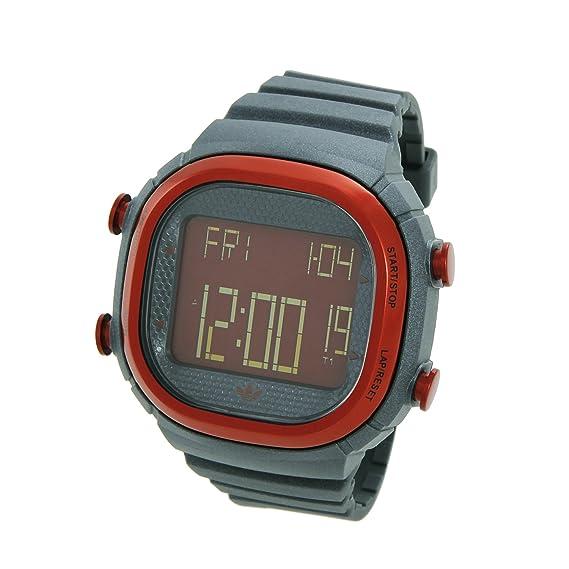 adidas Seoul ADH2131 - Reloj digital de cuarzo unisex, correa de plástico color gris (