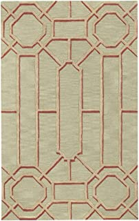 product image for Capel Ironworks 700 Sand 5' x 8' Rectangle Hand Tufted Rug