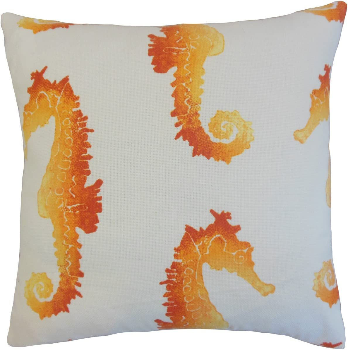 The Pillow Collection Xenos Outdoor Bedding Sham Tangerine King//20 x 36 KING-FT-29021-TANGERINE-OUT
