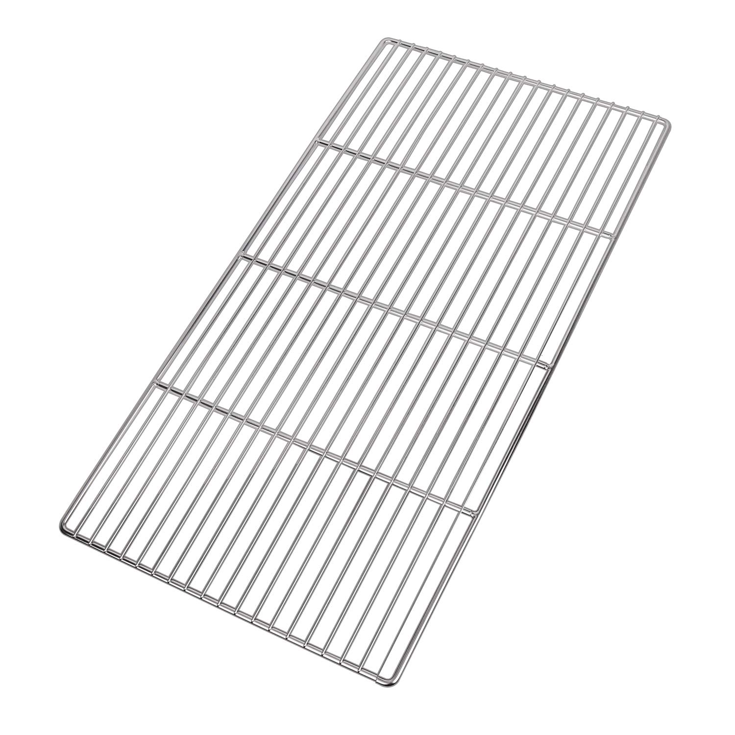 LANEJOY Barbecue Wire Mesh, Stainless Steel BBQ Grill Mat, Multifunction Grill Cooking Grid Grate 2 Pack (X-Medium) by LANEJOY