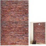 Platform 9 And 3/4 King's Cross Station, Curtains Door for Harry Potter, Red Brick Wall Party Backdrop, Secret Passage…
