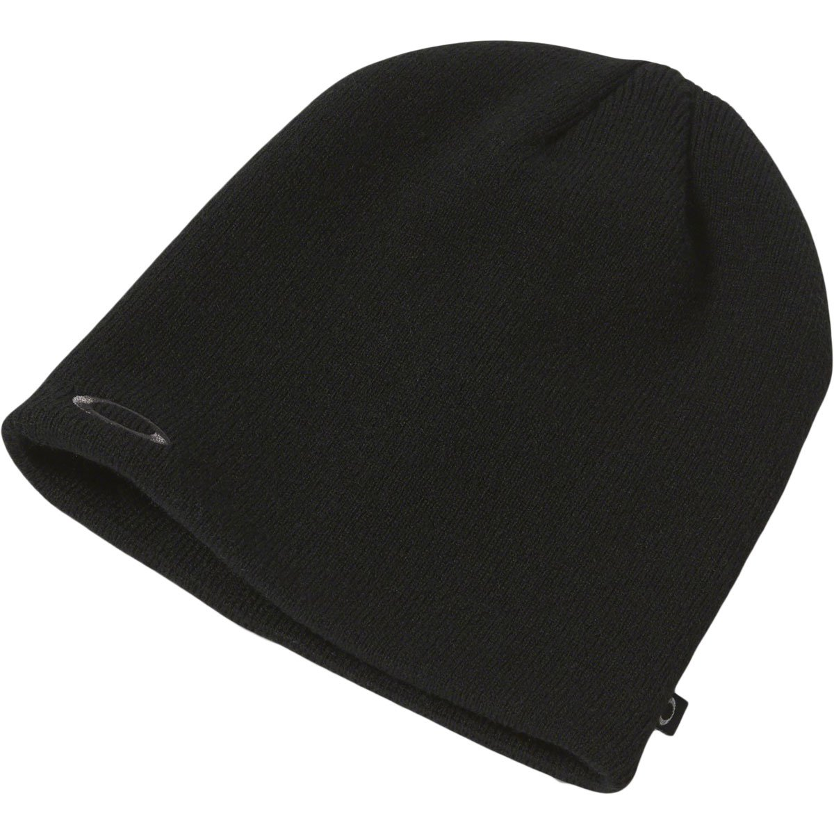 Oakley Fine Knit Beanie, Blackout, One Size