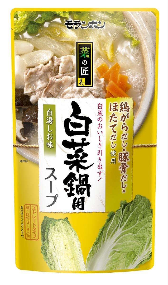 モランボン 菜の匠 白菜鍋用スープ 750g