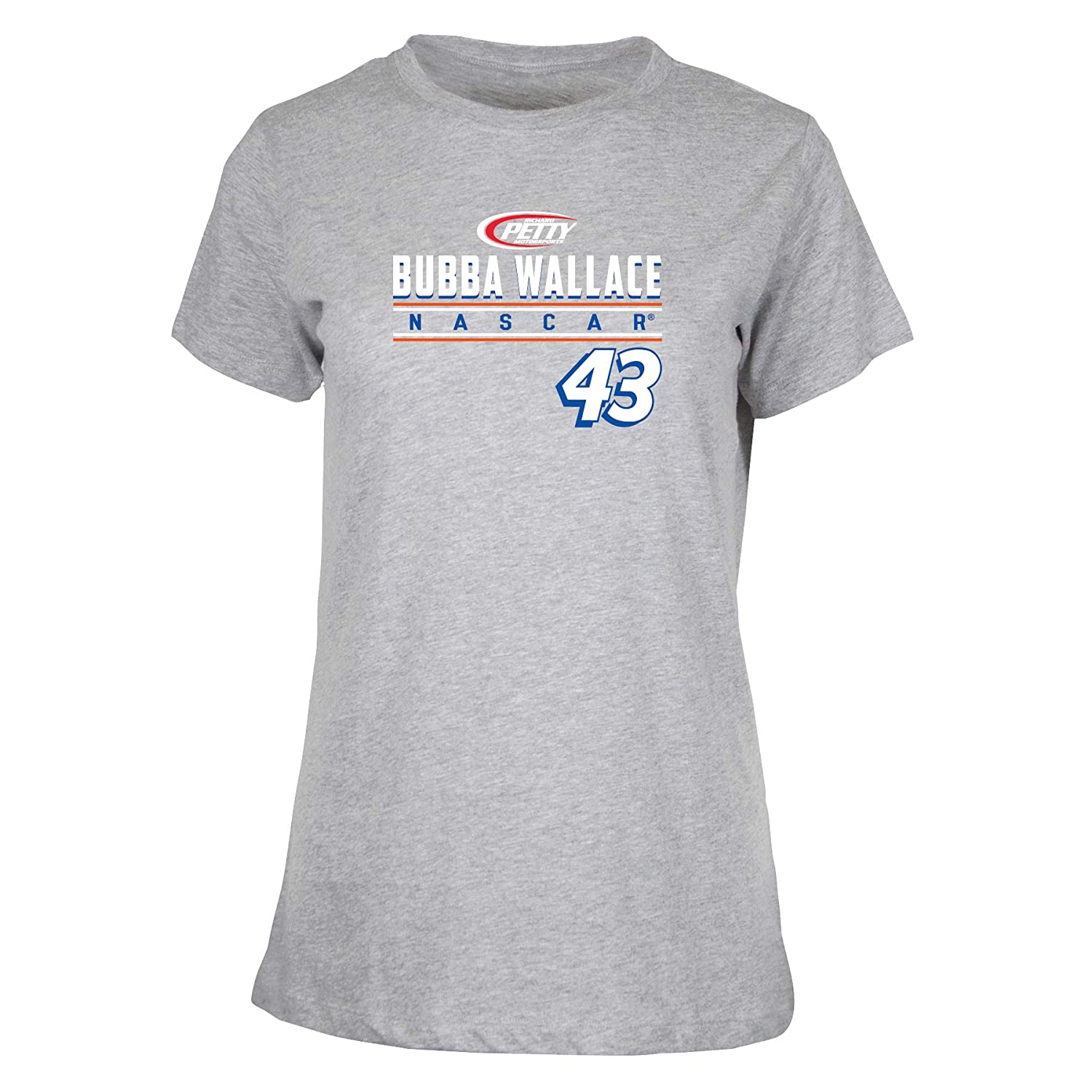 Small NASCAR Richard Petty Motorsports Bubba Wallace Womens W Ouray S//S TW Ouray S//S T Premium Heather