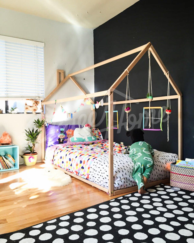Letto Montessori.Montessori House Bed 140x70cm Buy Online In Albania Kitchen