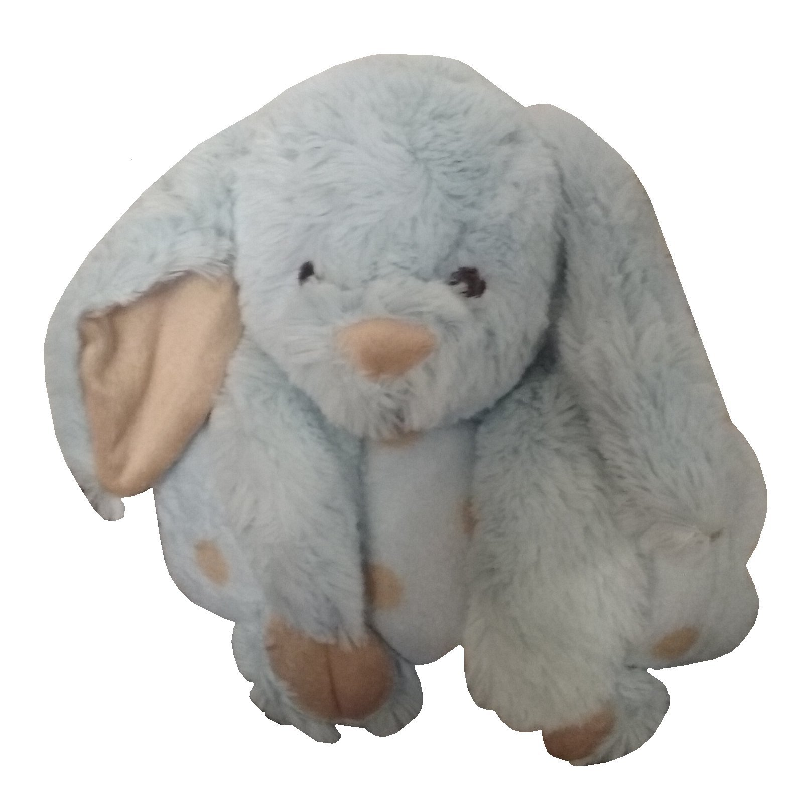 Animal and Blanket Toy and Blanket,Blue Bunny