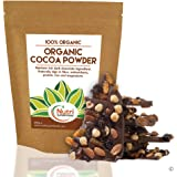 COCOA POWDER, Organic, Vegan Dark Chocolate Ingredient, Premium Quality, Unsweetened, Dairy free Superfood for Better Health, Delicious & Nutritious in Power Smoothies, Baking & Hot Chocolate - 200g