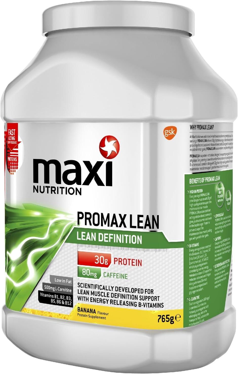 MaxiNutrition Promax Lean - Polvo de proteínas para batidos