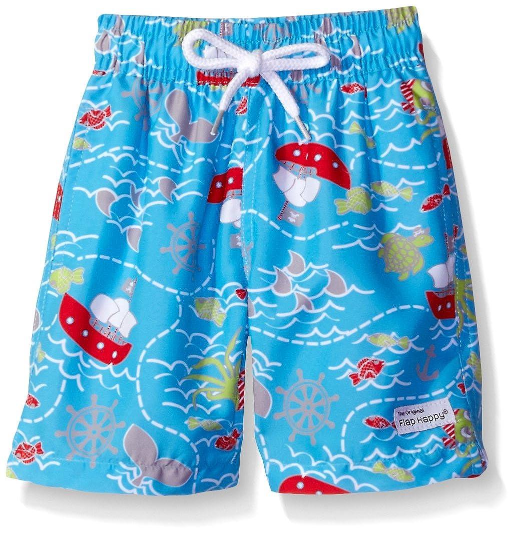 Flap Happy Baby UPF 50+ Boys Swim Trunk with Mesh Liner JSK7AZ