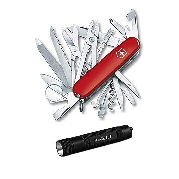 Amazon.com: Victorinox Swiss Army Swisschamp cuchillo con ...
