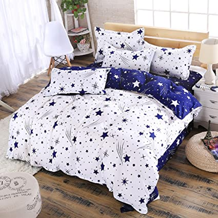 dde7a0bfafeb Amazon.com  Libaoge 4 Piece Bed Sheets Set