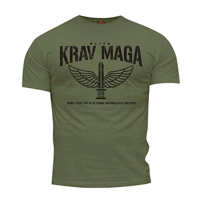Dirty Ray Artes Marciales Krav Maga Elite Camiseta Hombre DT35 LxgyXUe