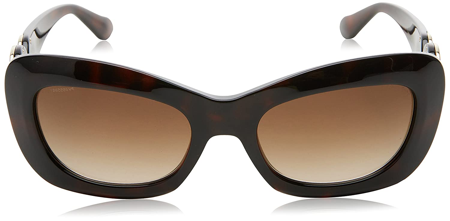 eb758f3e1c4 Amazon.com  Versace Women s VE4328 Sunglasses Havana Brown Gradient 54mm   Clothing