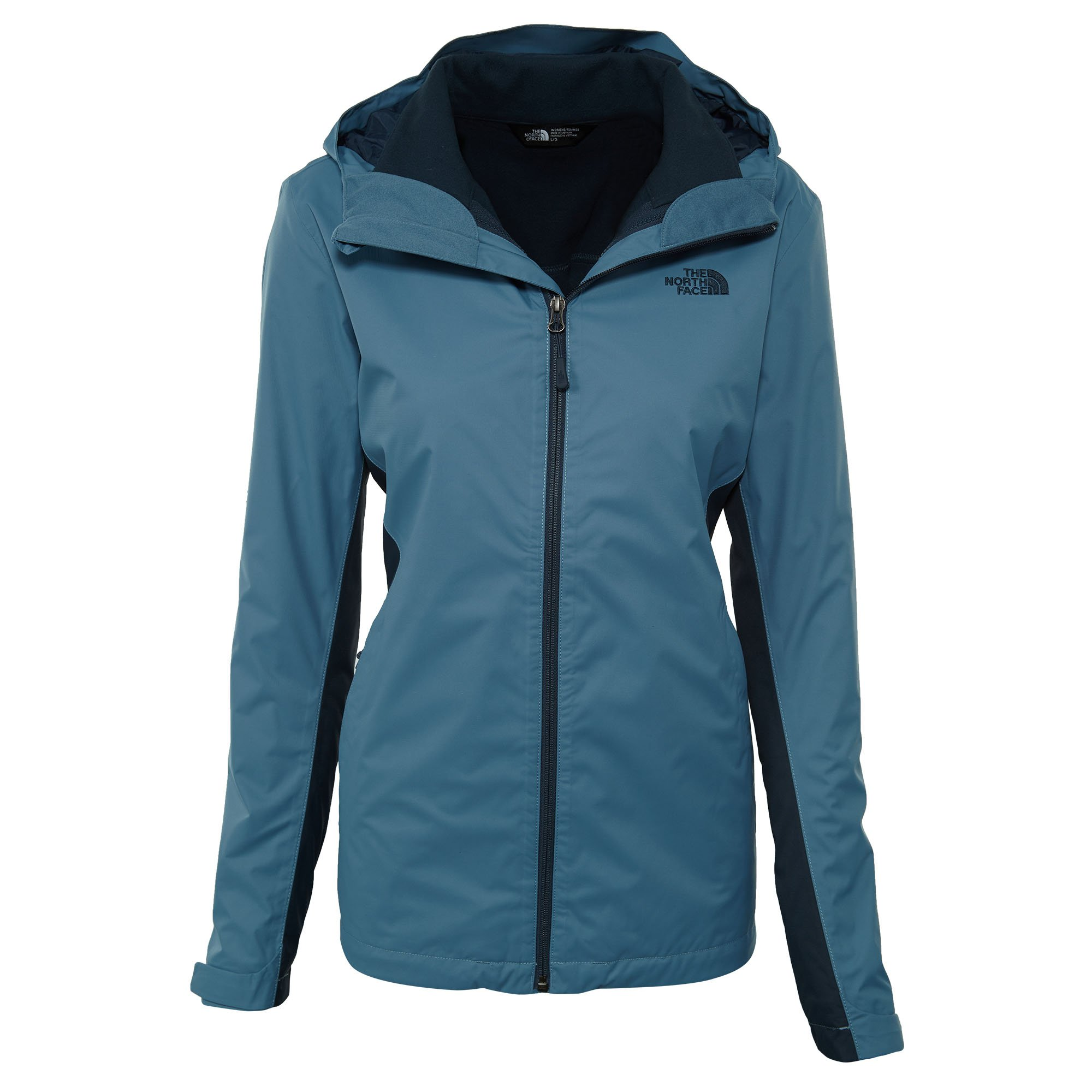 fdf3af115 The North Face Women's Arrowood Tri-Climate Jacket Provincial Blue/Ink Blue  (Large)