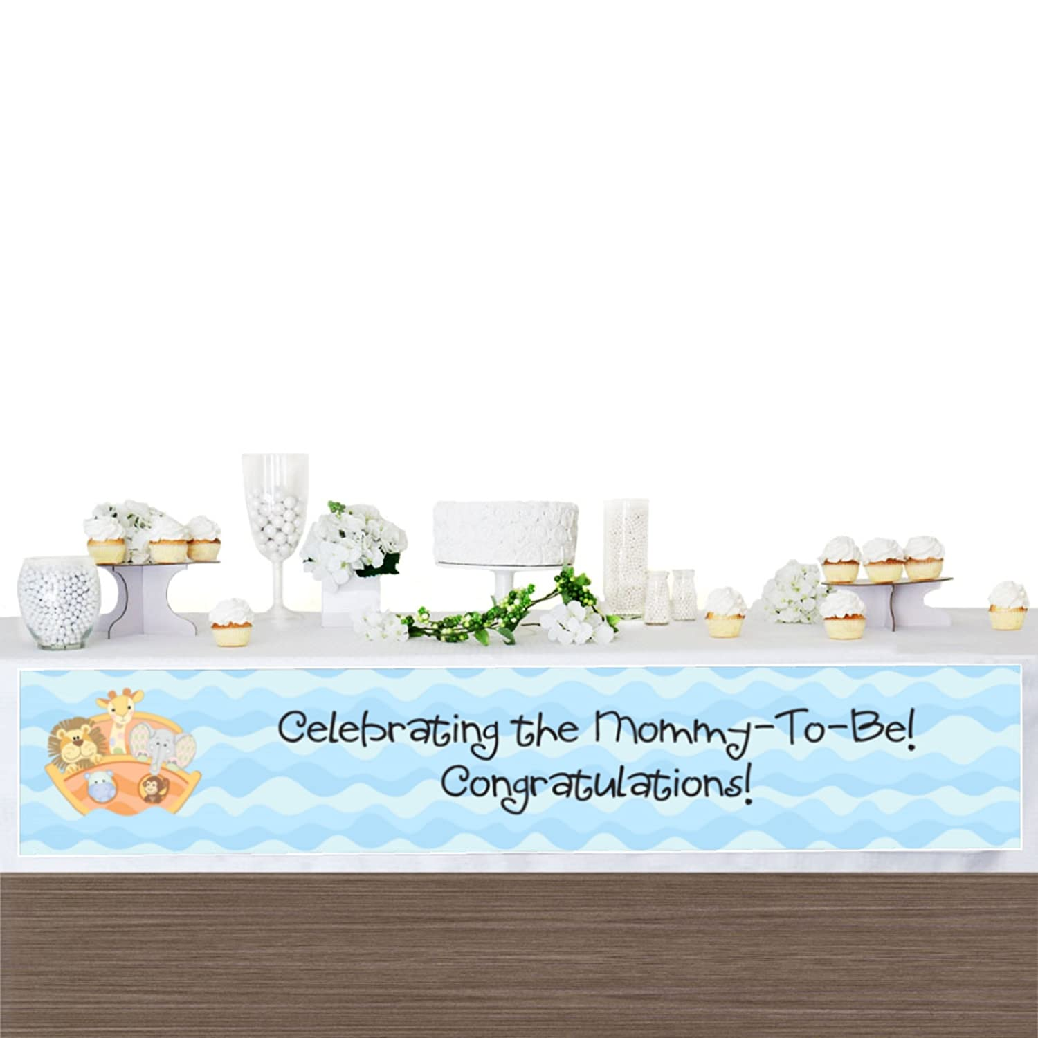Big Dot of Happiness Noahs Ark Baby Shower Decorations Party Banner