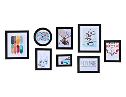 Amazoncom Matforca 8pack Picture Frame Gallery Frame Set For Wall