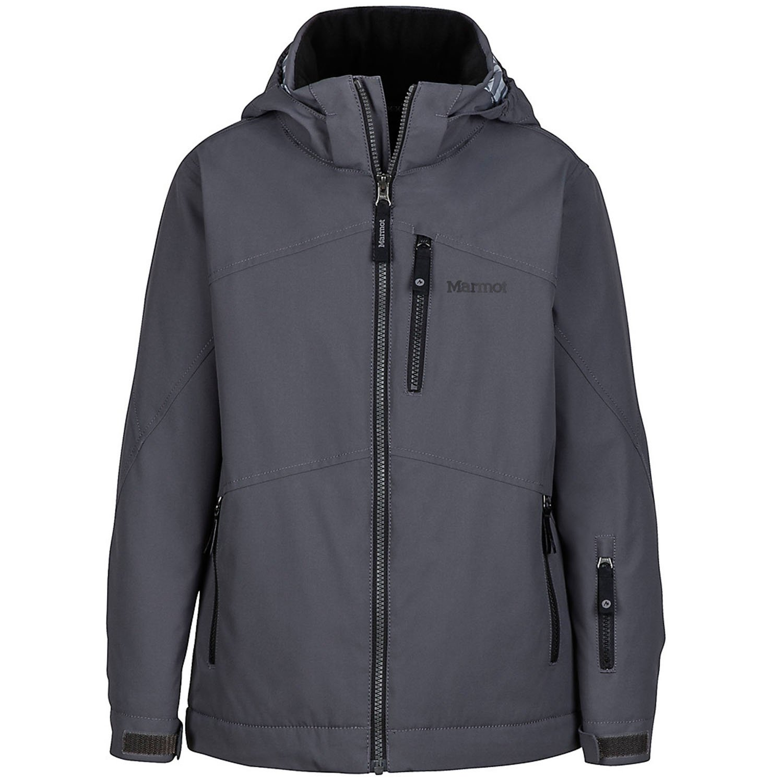 Marmot Kids Boy's Ripsaw Jacket (Little Kids/Big Kids) Slate Grey Large by Marmot