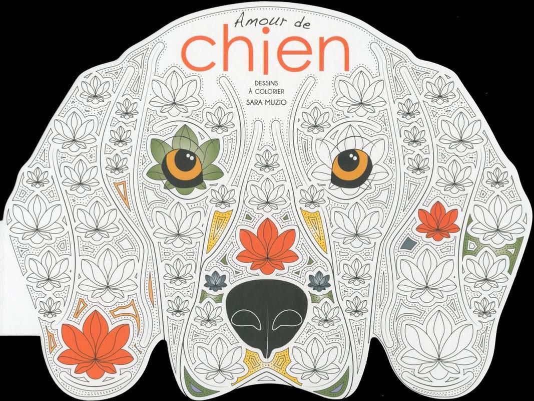 Amazon Com Amour De Chien Dessins A Colorier French Edition