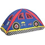 Pacific Play Tents Kids Rad Racer Bed Tent Playhouse - Twin Size