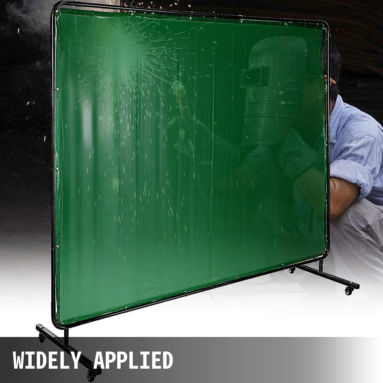 con Marco Verde Oscuro VEVOR Pantalla de Soldadura de 6 x 8 183cm x 244cm