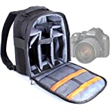 DURAGADGET Portable Water Resistant Nylon Rucksack for Pentax K-50 DSLR Camera with DAL 18-55mm WR Lens Kit - White (16MP, CMOS APS-C Sensor) 3 inch LCD