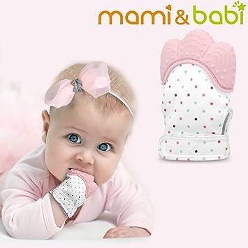 Strict Baby Teething Mitten Babies Self-soothing Pain Relief Teething Glove Bpa Free Safe Food Grade Teething Mitt Mother & Kids