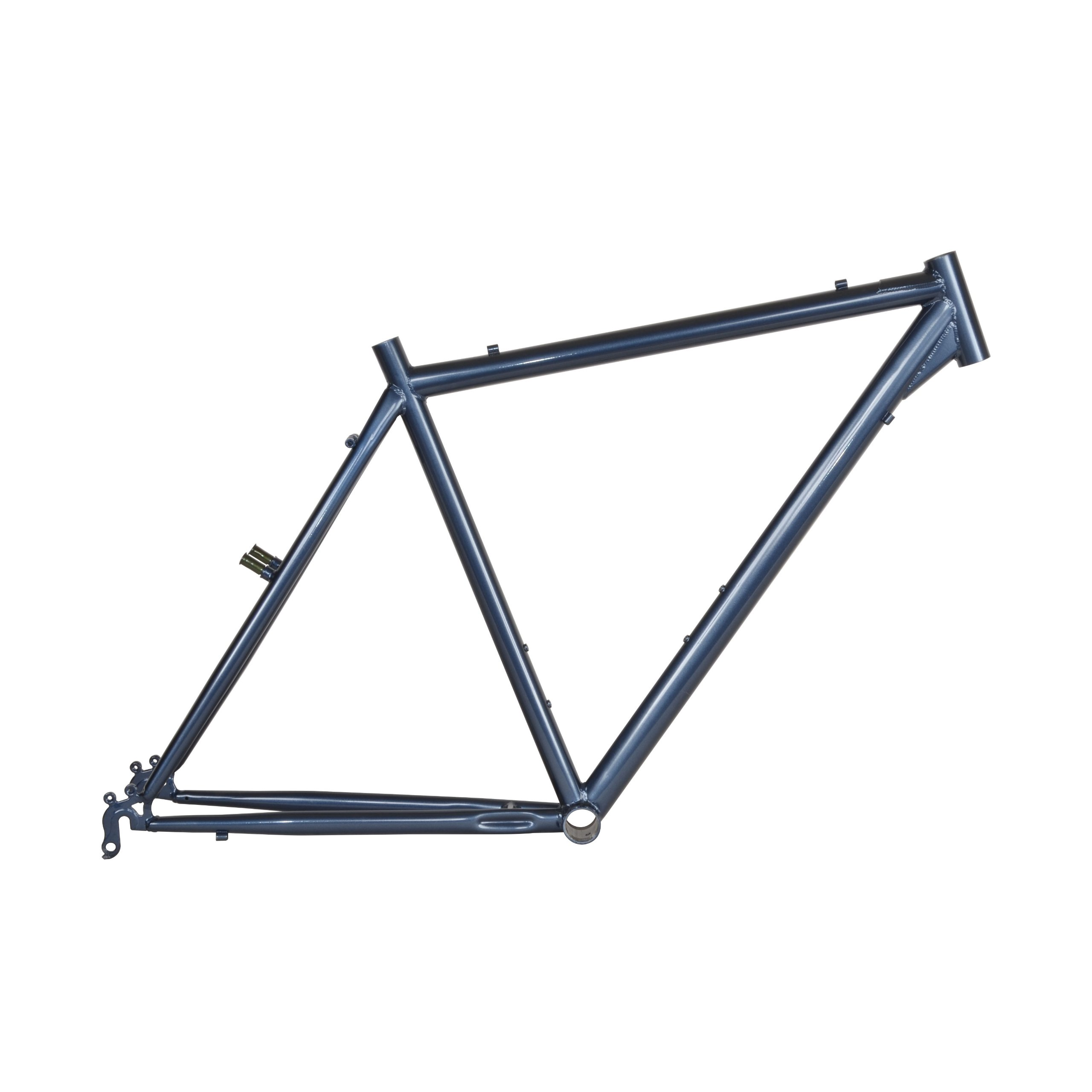 Cycle Force Cro-mo Touring Frame, 50cm/X-Small, Steel Blue