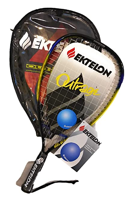 Amazon.com : Ektelon Outrage Racquetball Racquet/Oversize ...