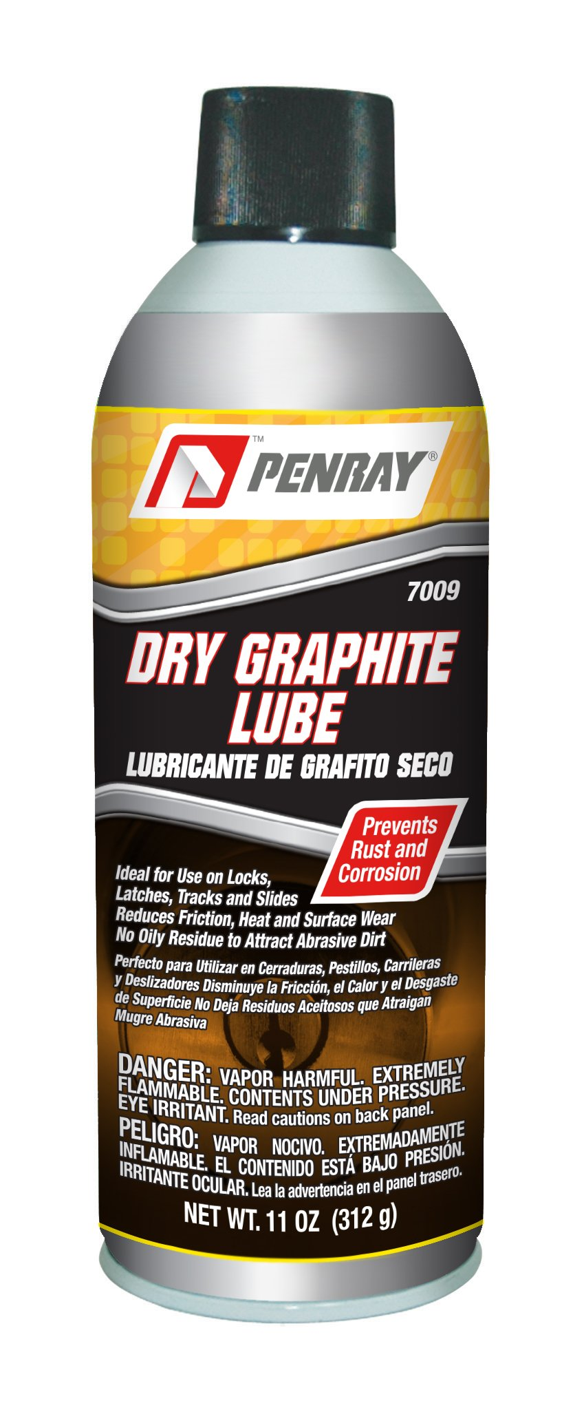 Amazon.com: Penray 7009 Dry Graphite Lube - 11-Ounce Aerosol Can: Automotive