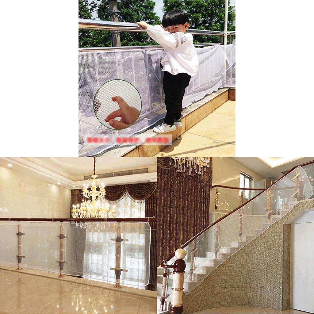 LXYFMS Protect Children's Isolation Pet Net Stairs Balcony Protection Net Anti-Fall Net 300×77 cm Protection Network by LXYFMS (Image #5)