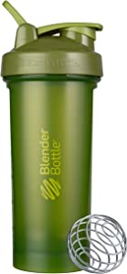 BlenderBottle Classic V2 Shaker Bottle, 28-Ounce, Moss Green
