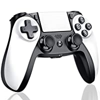PS4 Controller, Kydlan Wireless Game Controller for PS4 Pro/Playstation 4/PS4 Slim , Modded PS4 Remote Gamepad with Dual Shock, Audio Function, Motion Control for Playstation 4
