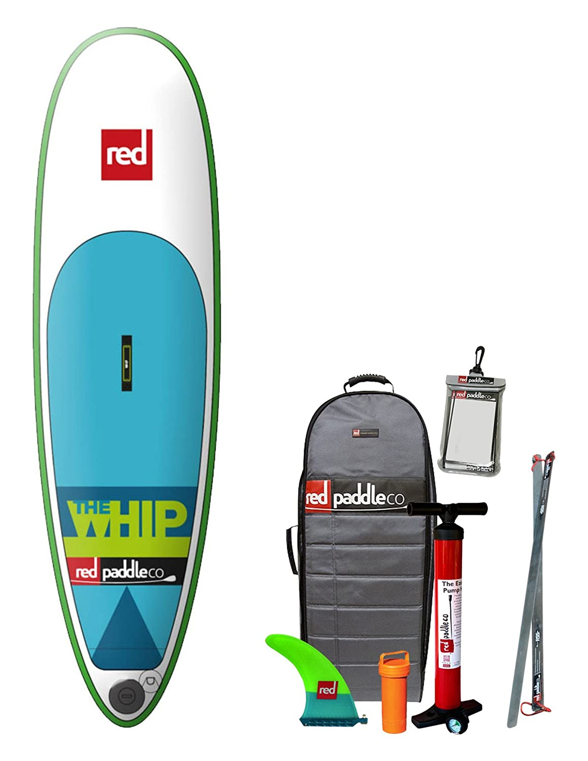 Amazon.com : Red Paddle Co WHIP Stand Up Paddleboard (SUP 8 ...