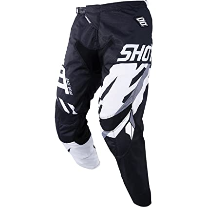 32 Shot Score Mens Off-Road Motorcycle Pants Grey//Neon Yellow