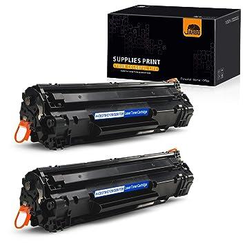 JARBO - Cartuchos de tóner compatibles con Canon 128 (2 ...