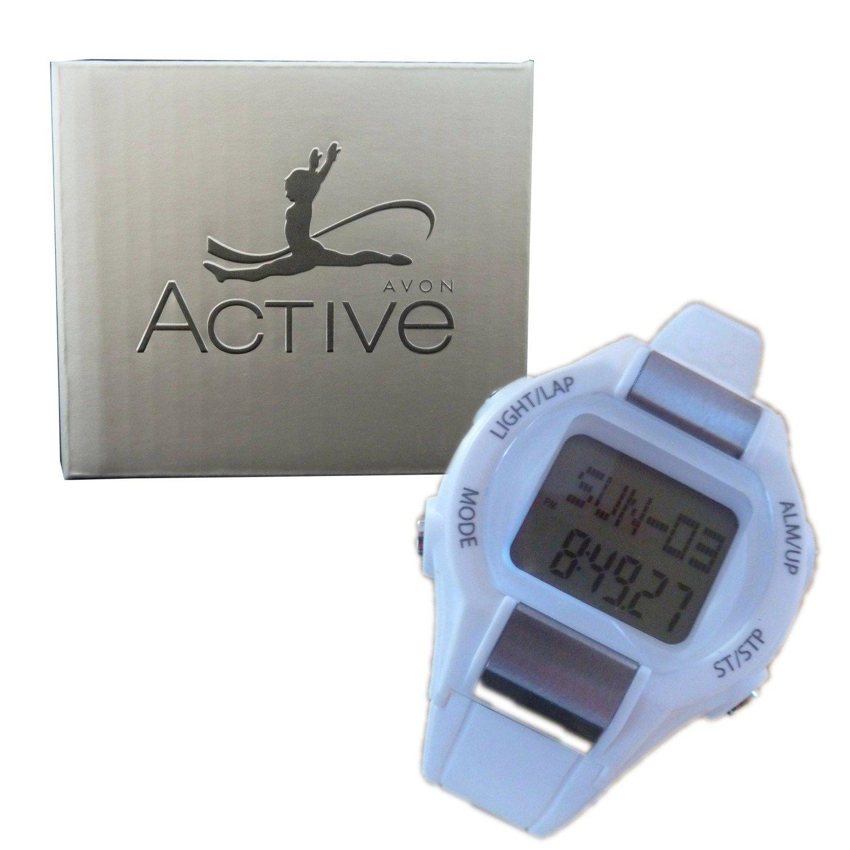 Multifunción reloj de la aptitud de pulso podómetro cronómetro reloj blanco: Amazon.es: Deportes y aire libre