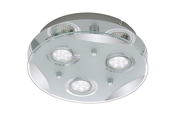 Briloner Leuchten Lámpara De Techo Led Lámpara De Techo 4