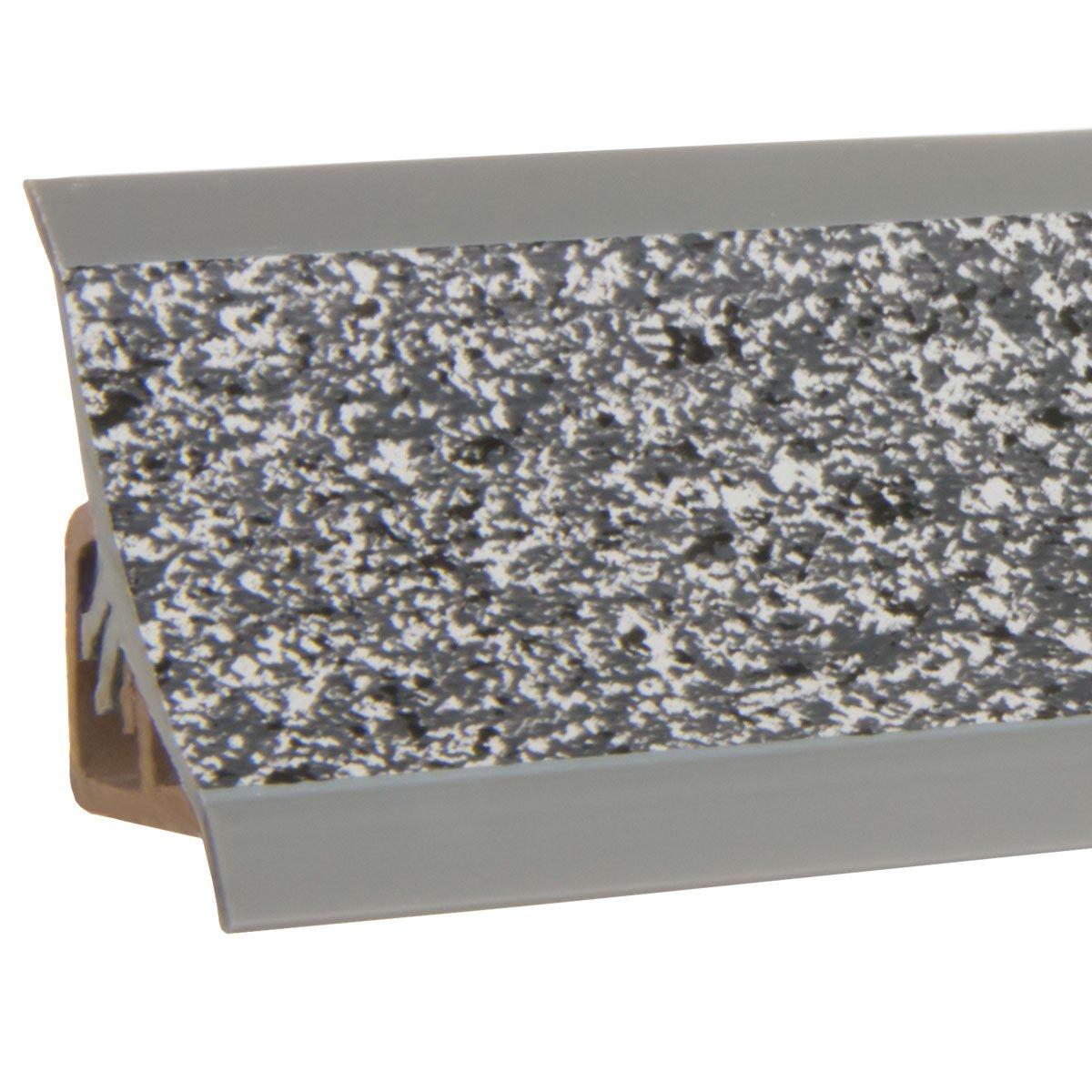 HOLZBRINK Unión de Copete de Encimera Granito Oscuro Listón de Acabado PVC Copete para las Encimera de Cocina 23x23 mm: Amazon.es: Bricolaje y herramientas