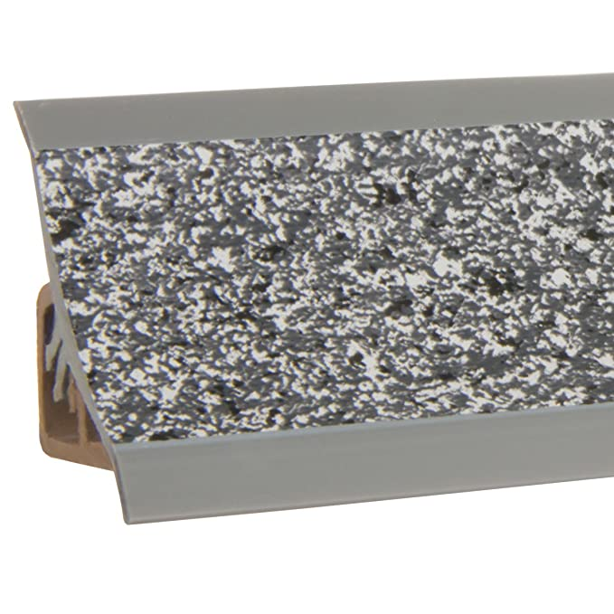 HOLZBRINK Acabado de Copete de Encimera Granito Oscuro Listón de Acabado PVC Copete de Encimeras de Cocina 23x23 mm: Amazon.es: Bricolaje y herramientas