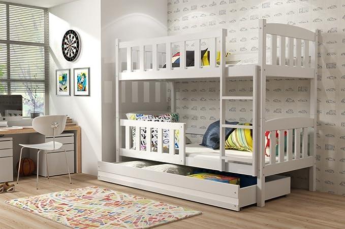 Bett Jugendbett Kinderbett Kiefer Massiv KUBUS