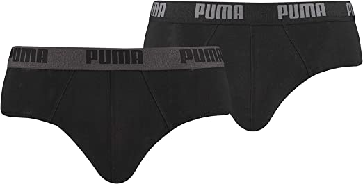 TALLA S. Puma Basic Brief 2P - Calzoncillos para hombre