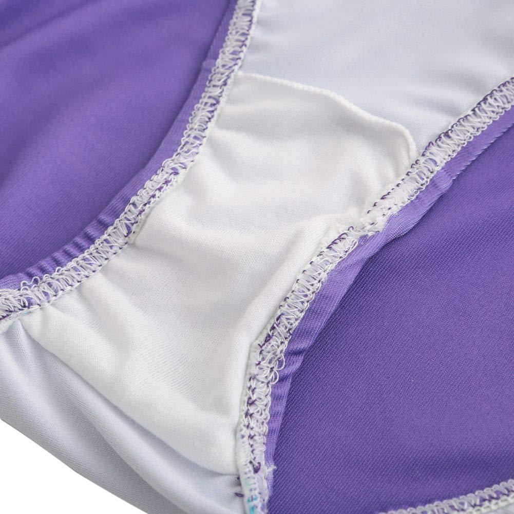 Senza Maniche 5-14 Anni Gradiente Body per Ginnastica Artistica Ragazza Ritmica Bambina Blu//Viola // Rosa
