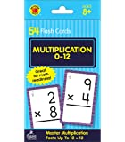 Carson Dellosa Multiplication Flash Cards—Grades 3-6 Double-Sided Cards, Multiplying Select Factors through 12…