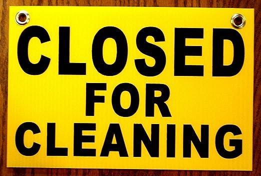 1pc Fiable único cerrado para la limpieza Coroplast Signs 1 ...